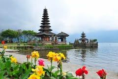 Tempiale di Ulun Danu Bratan in Bali Fotografia Stock Libera da Diritti