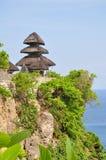 Tempiale di Uluwatu Fotografie Stock