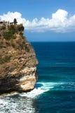 Tempiale di Uluwatu in Bali Fotografia Stock Libera da Diritti