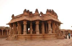 Tempiale di Vitthala Fotografie Stock