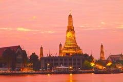 Tempiale di Wat Arun Fotografia Stock Libera da Diritti