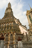Tempiale di Wat Pho a Bangkok Fotografia Stock Libera da Diritti