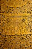 Tempiale di Wat Pho del Buddha adagiantesi Fotografia Stock Libera da Diritti