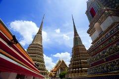 Tempiale di Wat Pho, Tailandia Fotografia Stock
