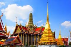 Tempiale di Wat Phra Kaeo Fotografia Stock