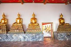 Tempiale di Wat Phra Kaeo, Bangkok, Tailandia. Immagini Stock