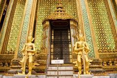 Tempiale di Wat Phra Kaeo, Bangkok, Tailandia. Fotografia Stock