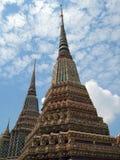 Tempiale di Wat Po Fotografie Stock