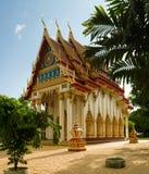 Tempiale di Wat Suwan Kuha Fotografie Stock Libere da Diritti