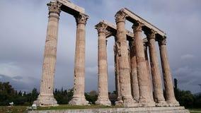Tempiale di Zeus Fotografia Stock Libera da Diritti