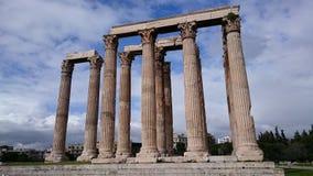 Tempiale di Zeus Fotografia Stock