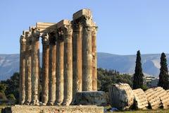 Tempiale di Zeus Immagine Stock