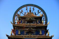 Tempiale dorato Fotografie Stock