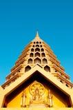 Tempiale dorato immagine stock