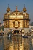 Tempiale dorato Immagini Stock Libere da Diritti