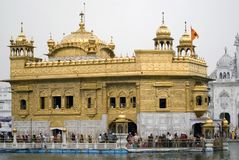 Tempiale dorato, Amritsar, Punjab, India Immagine Stock Libera da Diritti