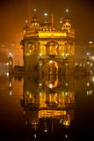 Tempiale dorato a Amritsar, Punjab, India. fotografia stock