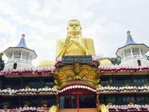 Tempiale dorato di Dambulla immagine stock libera da diritti