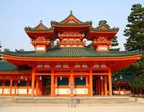 Tempiale giapponese Fotografia Stock Libera da Diritti