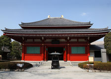 Tempiale giapponese - Asakusa Tokyo Fotografia Stock