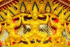 Tempiale in grande palazzo Bangkok Tailandia Fotografia Stock