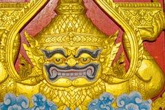 Tempiale in grande palazzo Bangkok Tailandia Fotografia Stock Libera da Diritti