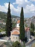 Tempiale in Grecia Fotografia Stock