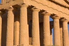 Tempiale greco Fotografia Stock
