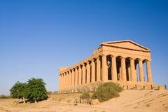 Tempiale greco Immagine Stock