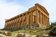 Tempiale greco Agrigento Immagine Stock Libera da Diritti
