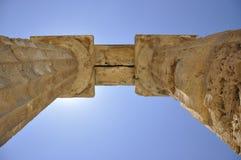 Tempiale greco in Sicilia. L'Italia. Immagini Stock