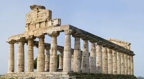 Tempiale greco XXL immagini stock libere da diritti
