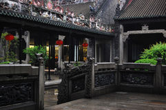 Tempiale Guangzhou del Chen fotografia stock libera da diritti