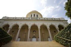 Tempiale Haifa di Baha'i Fotografia Stock Libera da Diritti