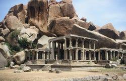 Tempiale in Hampi, India Fotografie Stock