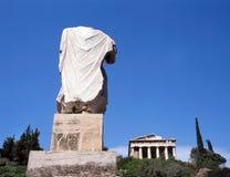 Tempiale Hephaisteion (Theseion). fotografia stock libera da diritti