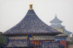 Tempiale imperiale Pechino del Corridoio di preghiera della volta immagine stock
