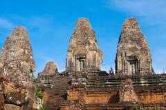 Tempiale indù antico Fotografie Stock Libere da Diritti