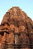 Tempiale indù antico a Orissa, India. Fotografie Stock