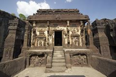 Tempiale indù della roccia Fotografia Stock Libera da Diritti
