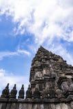 Tempiale indù di Prambanan Immagini Stock Libere da Diritti
