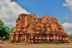 Tempiale indù Il mio figlio Quảng Nam Province vietnam Fotografia Stock