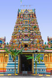 Tempiale indù a Kuala Lumpur Malesia fotografia stock