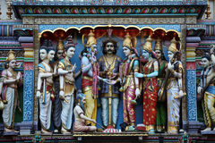 Tempiale indiano Fotografie Stock