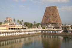 Tempiale indiano del sud Fotografie Stock Libere da Diritti