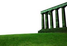 Tempiale isolato Fotografie Stock