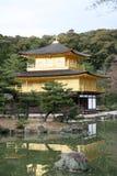 Tempiale Kinkakuji del Giappone Fotografie Stock