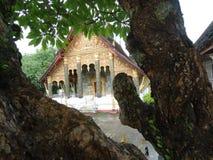Tempiale in Luang Prabang, Laos Immagini Stock