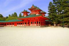 Tempiale maestoso giapponese Fotografia Stock Libera da Diritti