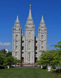 Tempiale mormonico di Salt Lake City Fotografia Stock Libera da Diritti